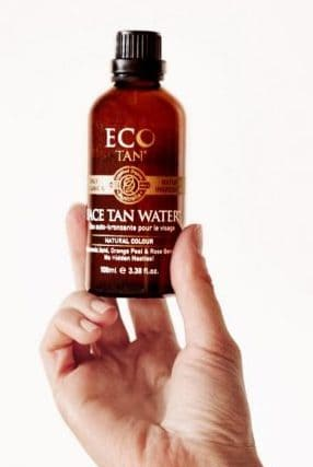 Best face self-tanner, Eco Tan Face Tan Water.